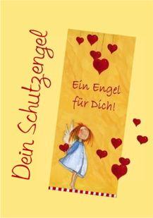 Schutzengeltexte Und Engelkarten Für Taufe Geburt