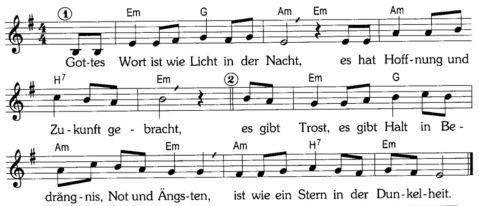 Kanons Schöne Einfache Lieder Für Den Taufgottesdienst