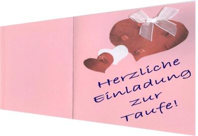 Einladungskarten Zur Taufe Basteln
