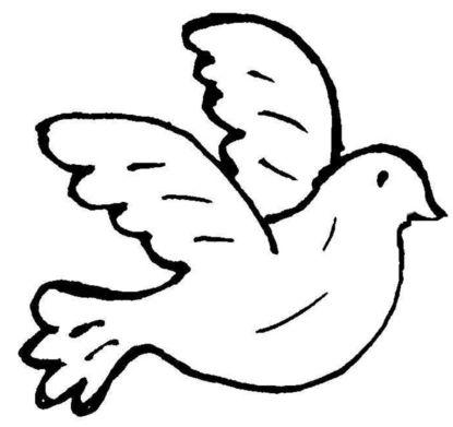 Taufsymbole, Vignetten, kleine Bilder zur Taufe für Taufeinladungen